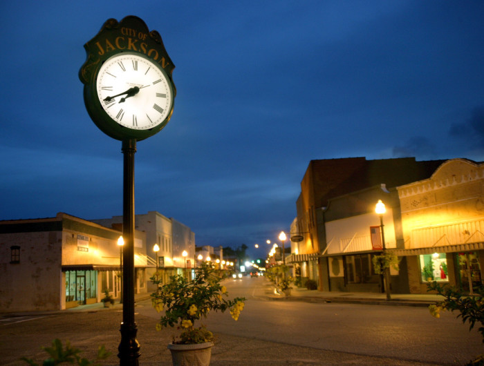 12.) You enjoy small-town living.