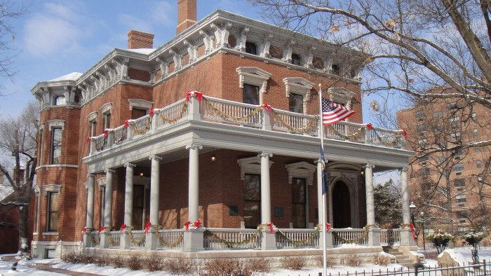1. Benjamin Harrison Home