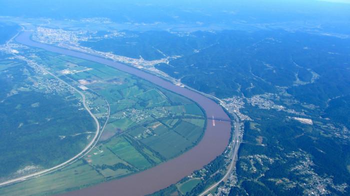 10) The Ohio River near Portsmouth