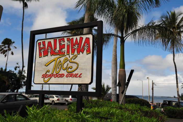13) Haleiwa Joe's is great for seafood and stellar views – but make sure to make a reservation! This place packs up quickly.