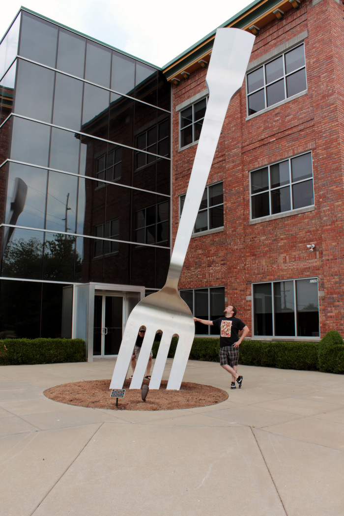 13. World's Largest Fork, Springfield