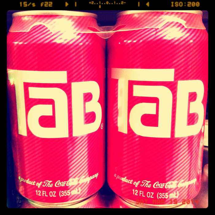 15. Tab - Love it, hate it, you can still find it in some stores. My mom drank it religiously and I learned to like it.