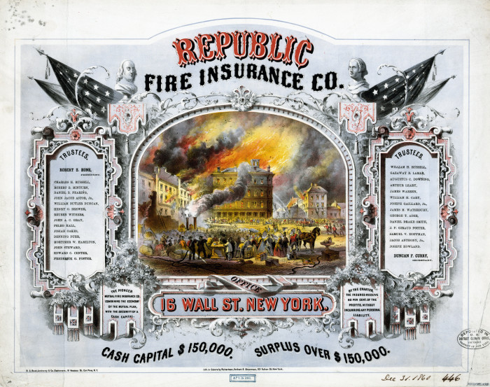 6. First fire insurance company