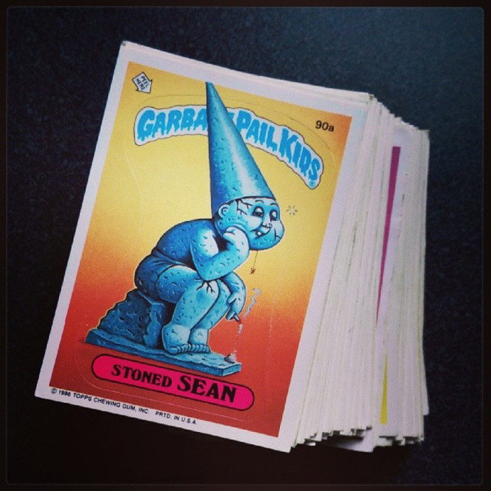 3. Yes! Garbage Pail Kids. The bane of every parent and the delight to every child.