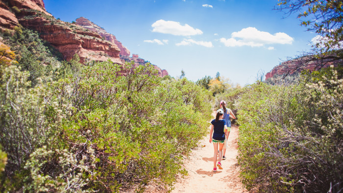 6. Enjoy a hike in our amazing wilderness