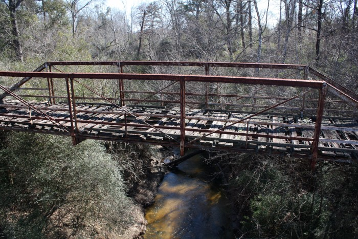 14. Cross this bridge if you dare...