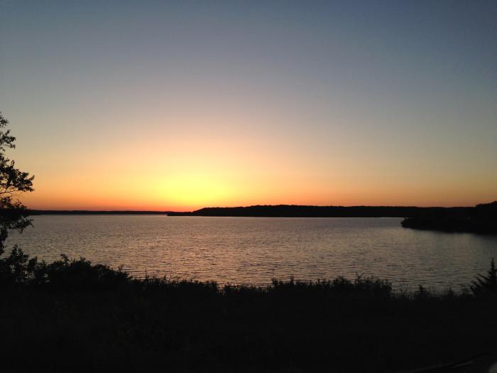 4.) Perry Lake (Ozawkie)