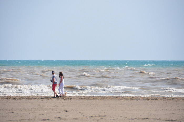 7) Lake Erie functioned as the ocean for you: