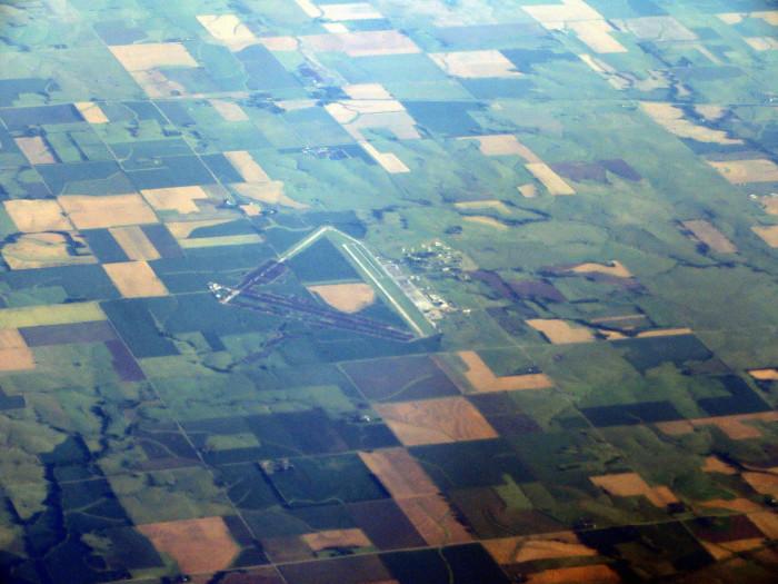 10.) Herington (Regional Airport)