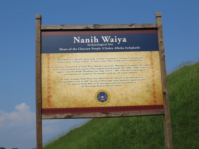 14. Explore Mississippi's Native American history at the Nanih Waiya Historical Site.