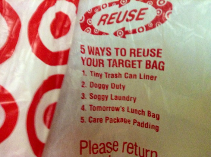 5. Something from Target. A gift card, a bag... something.