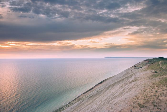 12) Climb to the top of Sleeping Bear Dunes