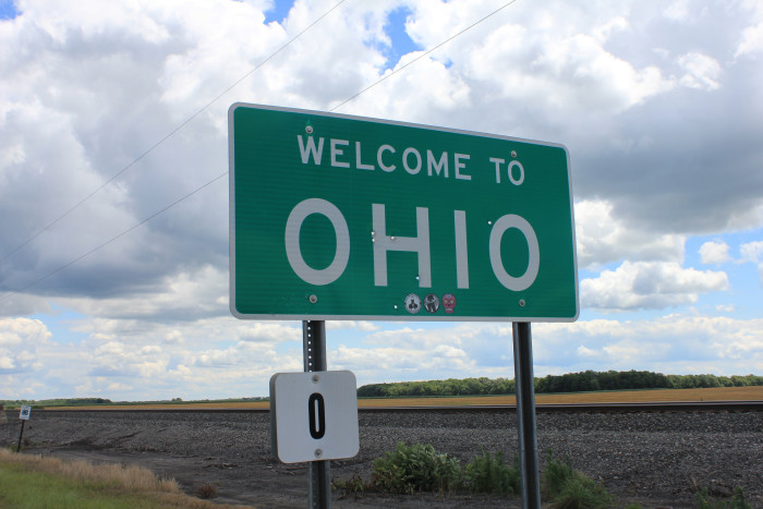 13) When you were on your way home from vacationing in another state: