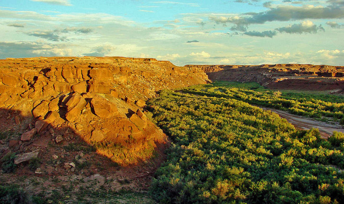20. And, finally, a look behind the Cameron Trading Post on the Navajo Nation.