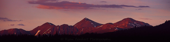 13.) Mount Edwards, Grays and Torreys Peaks