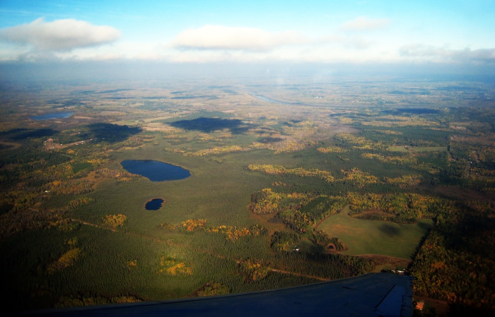 11. This vista displays the spectacular colors of Minnesota landscape.