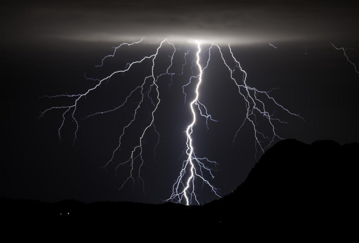 15. That is some powerful lightning.