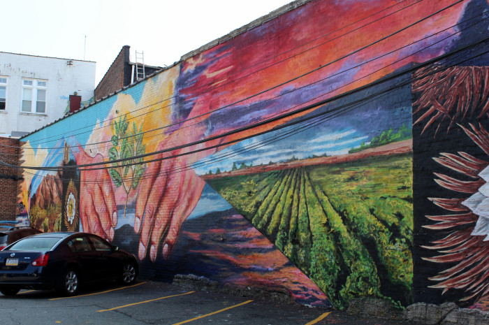 Incredible street art in new jersey for Baltimore mural program