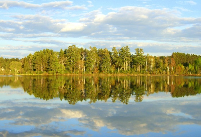 14. Long Lake is a smaller metro lake but offers gorgeous views nonetheless and this photo is likely to spur a trip or two.