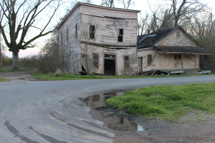 1. Taken in Vaughan, this abandoned town is most known for being the site where Illinois Central Railroad engineer Casey Jones lost his life in a train wreck.