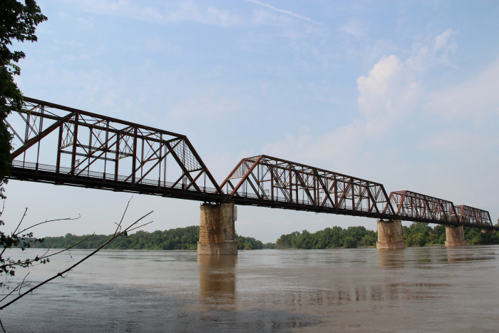 15. Bellefontaine Bridge, St. Charles County and St. Louis County