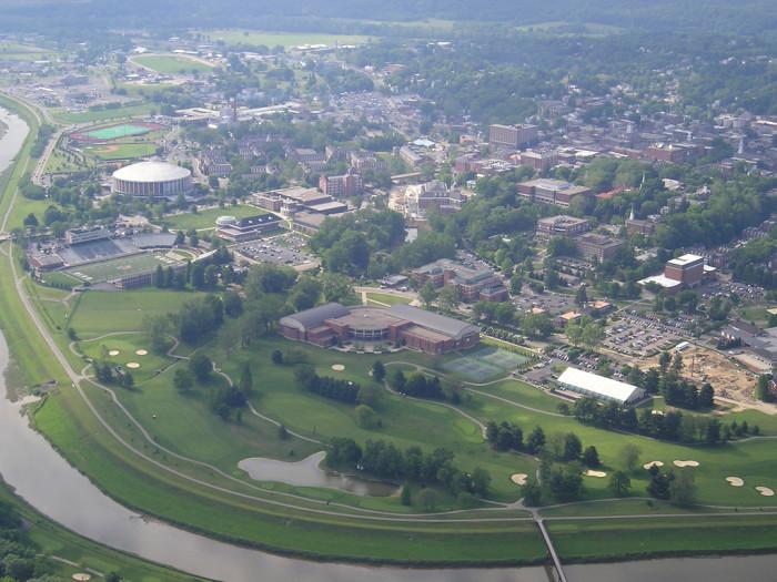 7) Athens and Ohio University