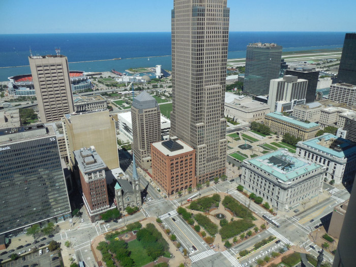 4) Cleveland from the Observation Deck of the Terminal Tower