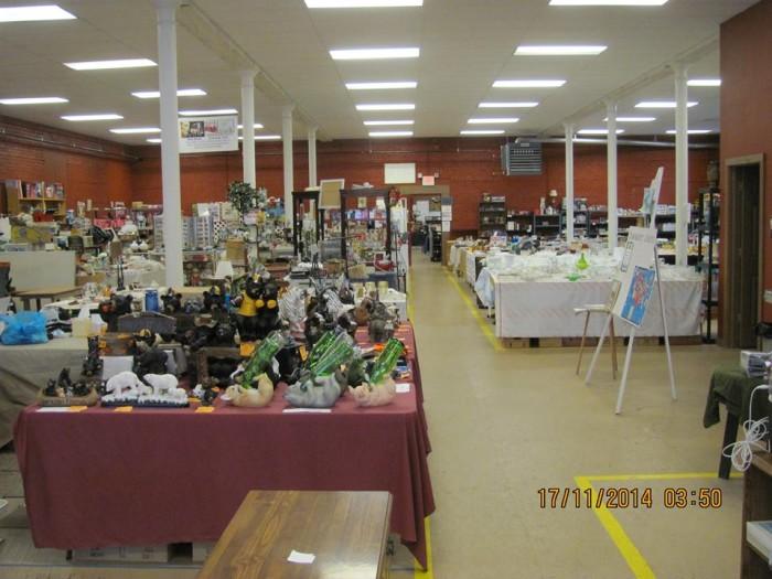 7. Keystone Flea Market, Curwensville