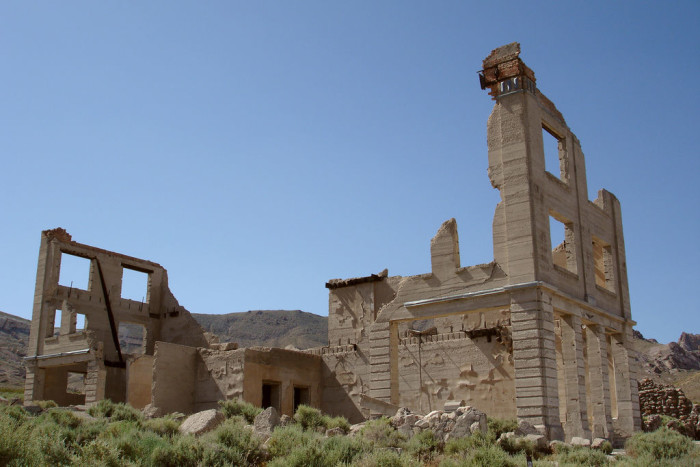 10. You've explored one of Nevada's many ghost towns.