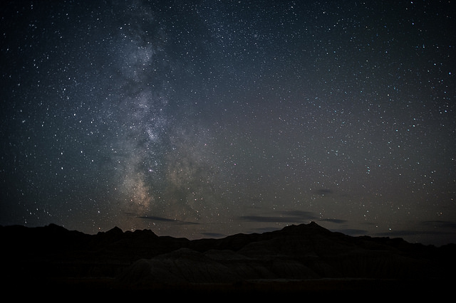 An Incredibly Clear View of the Milky Way Over Toadstool Geologic Park