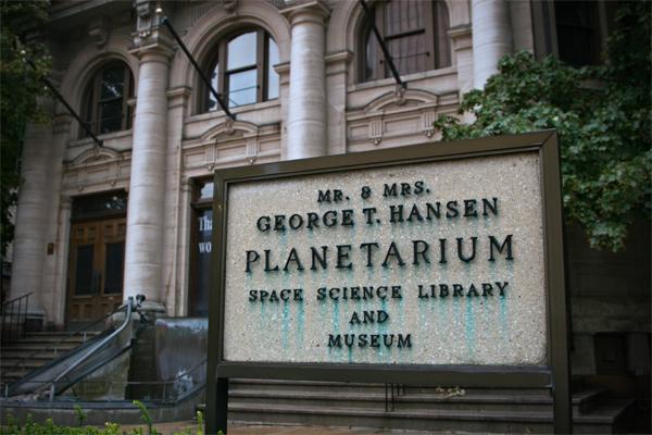 9) Stargazing at Hansen Planetarium