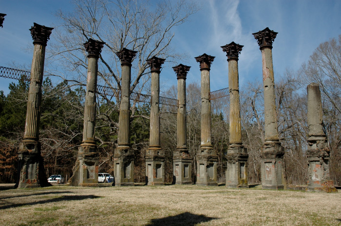 15. Take in what once was at the Windsor Ruins near Port Gibson.