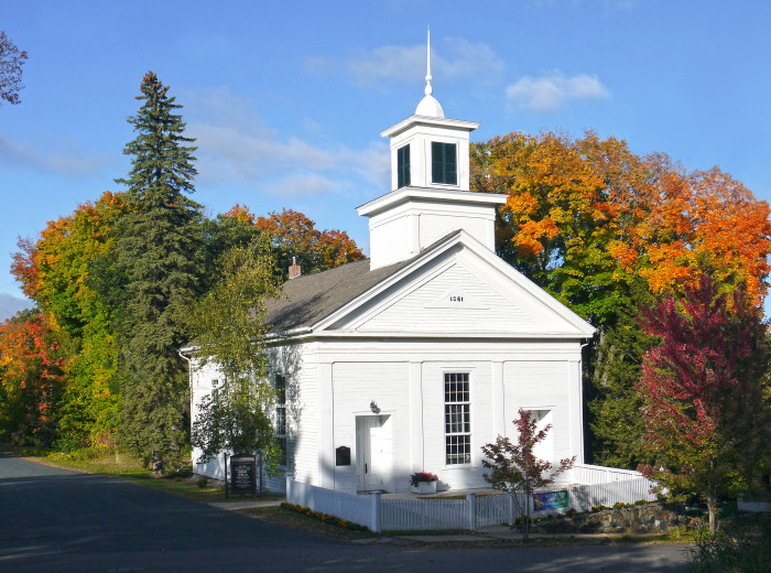 8. Methodist Church in Taylors Falls  from 1861 is the perfect illustration of small but stunning churches.