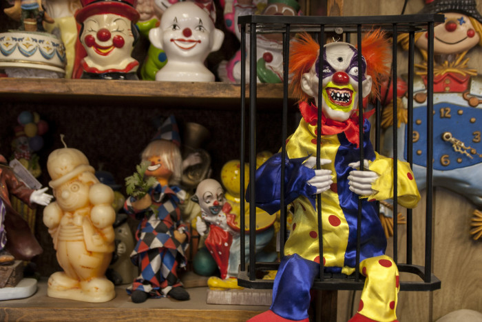 So, why would anyone open up a motel next to an old, creepy cemetery? According to Bob Perchetti, the Clown Motel's current owner, the story goes a little something like this: