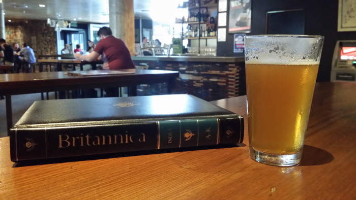 3) The entire collection of books in the Encyclopedia Britannica is banned in Texas because it contains a formula for making beer at home.