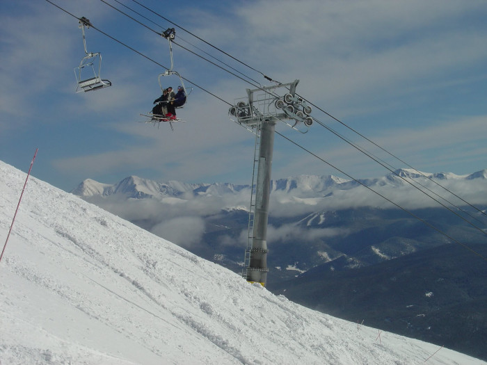 13.) The Imperial Express Superchair at Breckenridge Ski Resort is the highest chairlift in North America.
