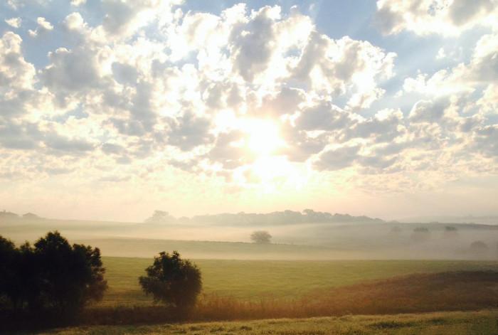 1.) Good Morning Kansas...