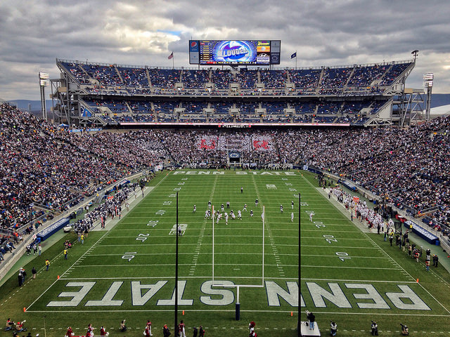 7. Is Penn State University a college, or a small country?
