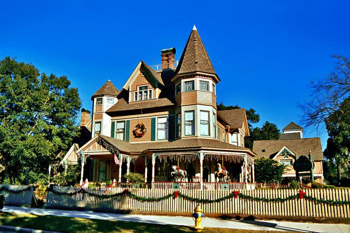 10. Historic District, Bailey House, Fernandina Beach, FL