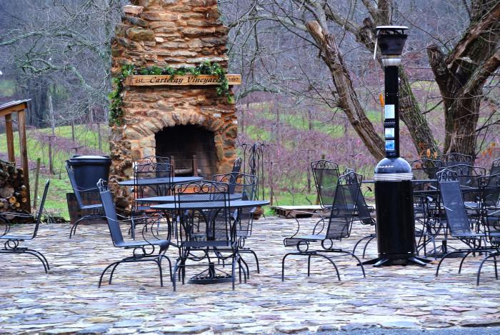8) Cartecay Vineyards - Ellijay, GA