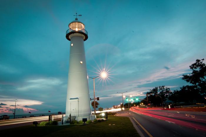 16. The Biloxi Lighthouse, Biloxi