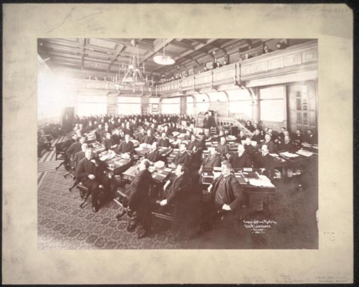 10. Then - The MN Senate in 1901.