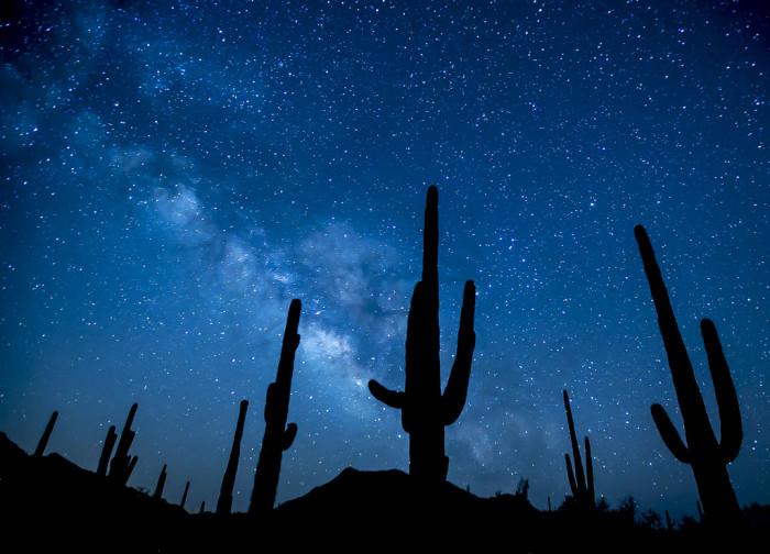 6. Star gaze in rural areas