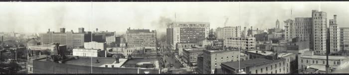 5. Then - Minneapolis Skyline in 1911.