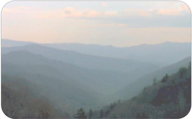 7. Blurred Blue Ridge