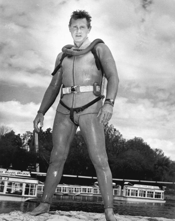 7. Actor Lloyd Bridges