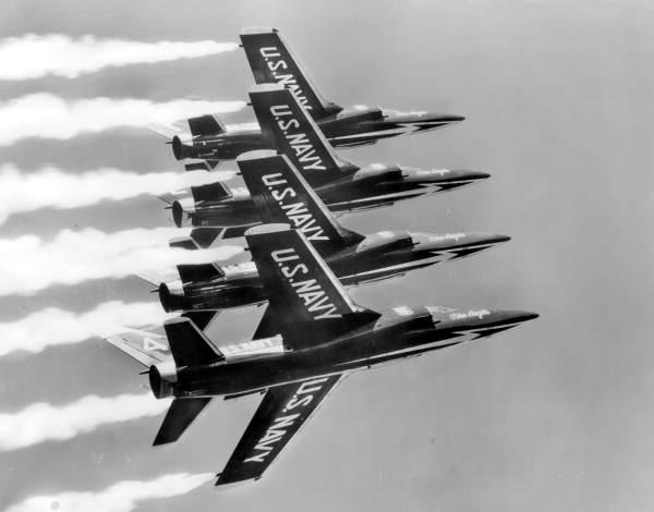 3. Blue Angels in Flight