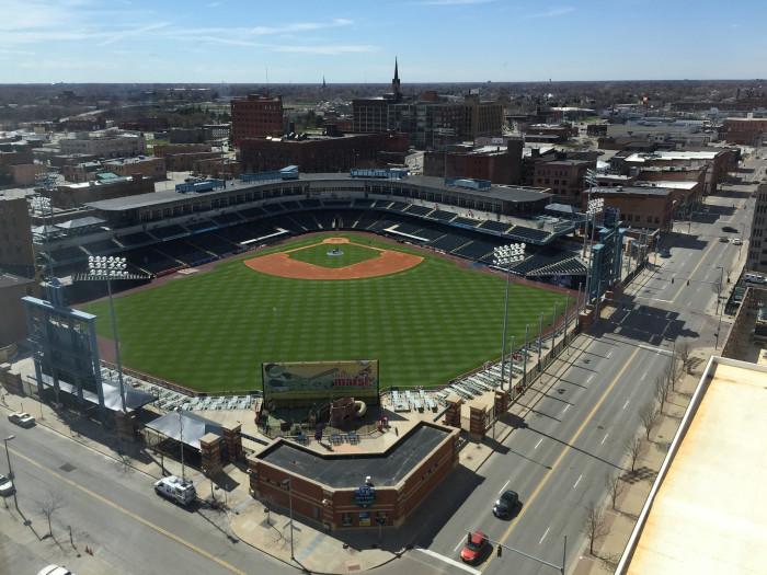 11) Fifth Third Field in Toledo
