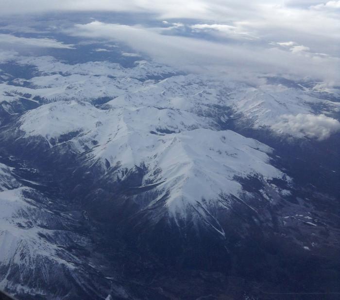 1.) Rocky Mountains