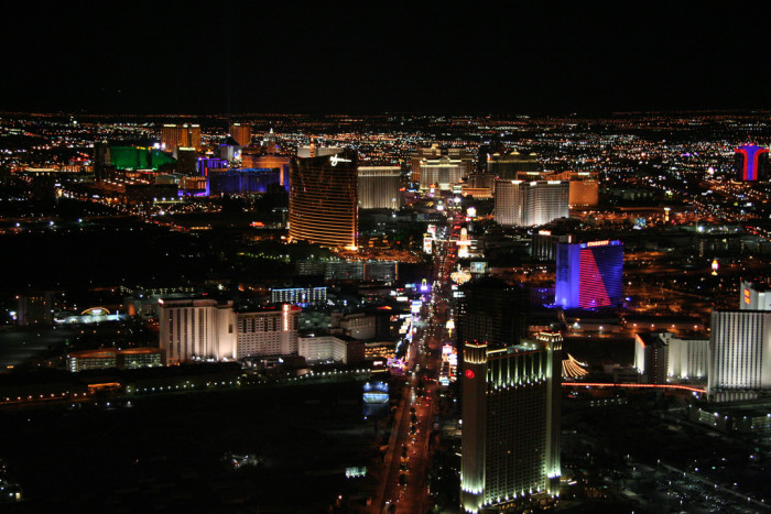 7. Everyone who lives in Nevada, especially near the Las Vegas strip, must love the night life.